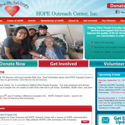 Hope Outreach Center Portfolio